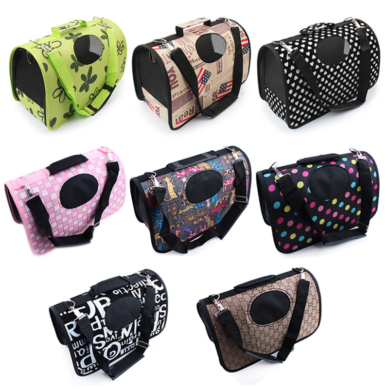 Circle pet 8 Style Small Dog Cat Traveling Bag Portable Flight Case Puppy Soft Tote Crate Carrier Bag Pet Travel Free Shipping