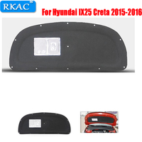 car styling 1 PCS For Hyundai IX25 Creta 2015 2016 Engine hood insulation cotton insulation cotton trunk lid liner accessories
