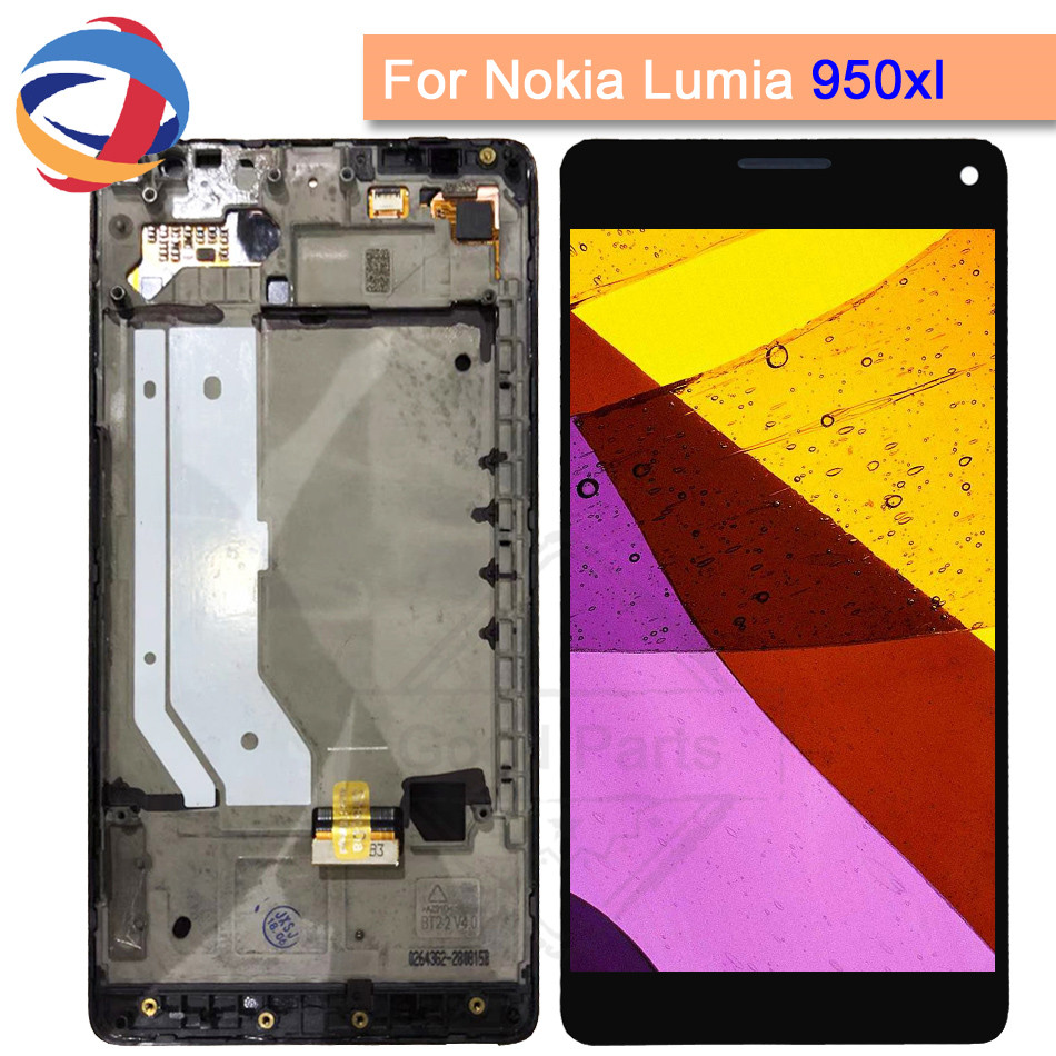 100% Tested For Microsoft Nokia Lumia 950Xl LCD Display Touch Screen With Frame Digitizer Assembly For Lumia 950 XL RM-1116 LCD100% Tested For Microsoft Nokia Lumia 950Xl LCD Display Touch Screen With Frame Digitizer Assembly For Lumia 950 XL RM-1116 LCD