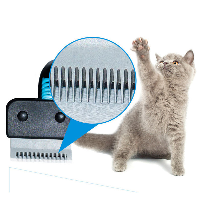 Pet Dog Cat Hair Removal Brush Comb Furmins Pet Grooming Tools Hair Shedding Trimmer Comb for Cats Dogs 21