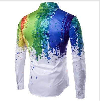 Këmisha të shtypura me këmishë të reja 3D Loldeal Burra - Veshje për meshkuj - Foto 6