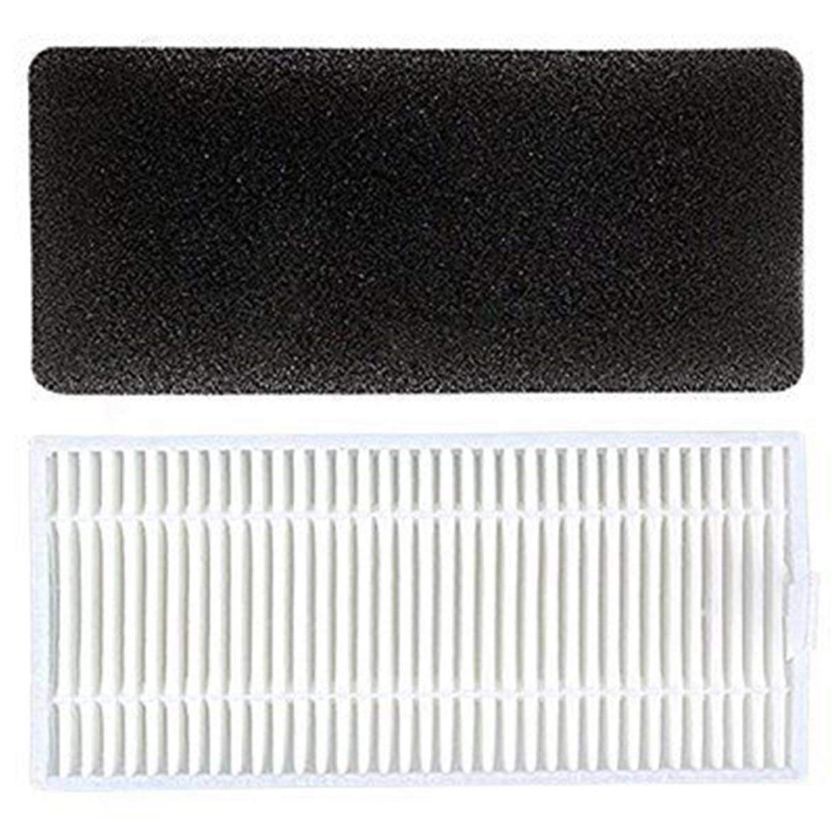 Replacement Filter and Side Brush Accessory Kit for Ecovacs DEEBOT N79 Robotic original l r side brush motor module assembly parts for ecovacs deebot cr130 cen640 component accessory