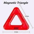 Bloques de Juguetes Magnéticos Partes Accesorios Triángulo Ladrillos Niños Juguetes Educativos Para Niños
