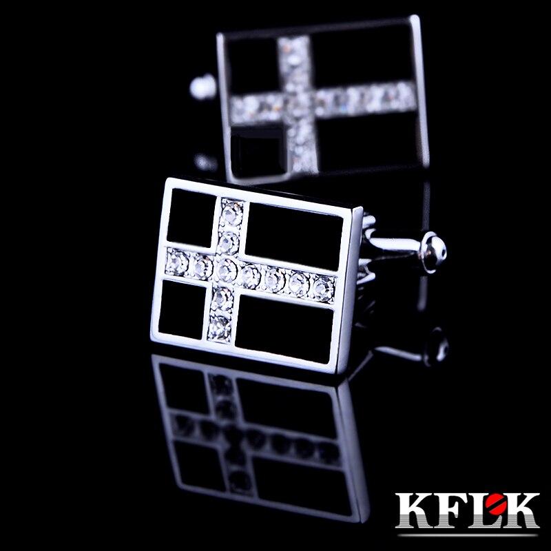 №Joyería de kflk marca gemelos moda al por mayor Botones negro alta ...