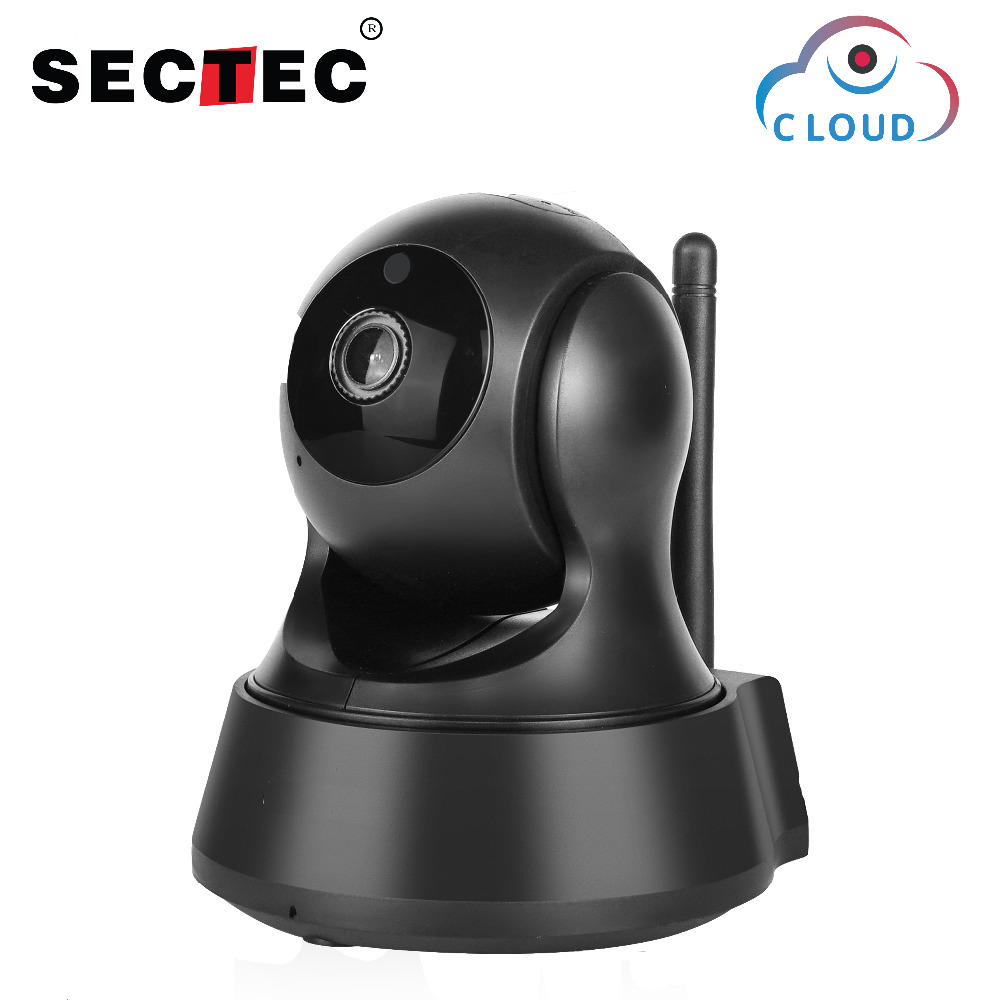 SECTEC 720P Cloud IP Camera Wireless Wifi Cam Home Security Surveillance CCTV Camera Night Vision Two Way Audio Baby Monitor