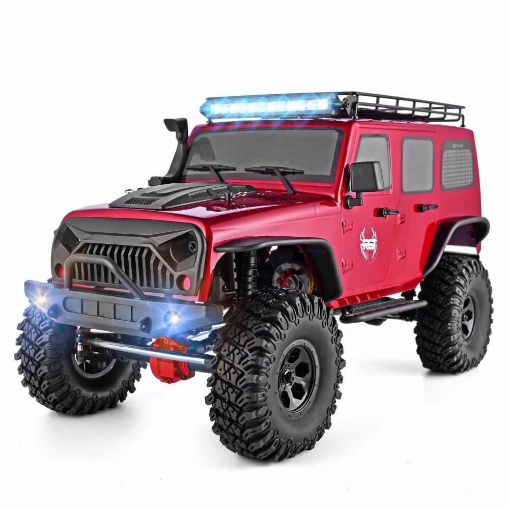 RGT RC chenille 1:10 échelle 4wd RC voiture hors route monstre camion RC Rock Cruiser EX86100 passe-temps chenille RTR 4x4 étanche RC jouets