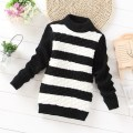 Letter Print Spring Cotton Baby Boy Sweater Pullover Casual Knitted Girls Boys Turtleneck Sweater Children Clothing KC-1582