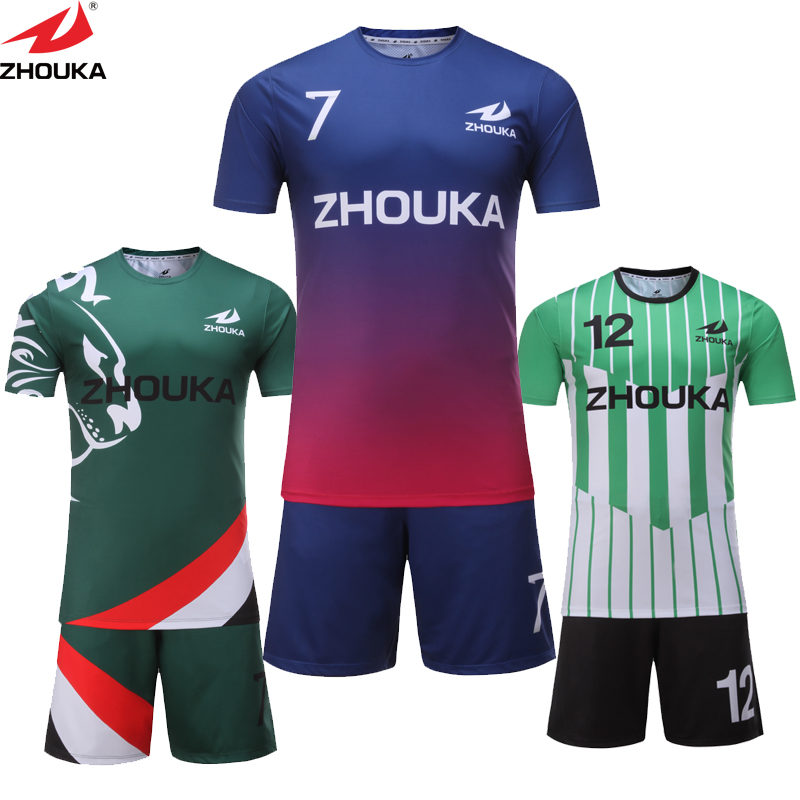 a50b48d73 Different design sublimation custom soccer set available personal name and  number soccer jersey Top quality personalised