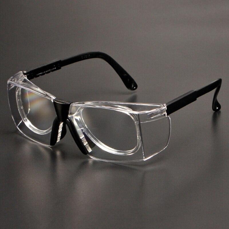 ccfc6cb7f4 Gafas de seguridad para el trabajo Anti-salpicaduras viento a prueba de  polvo gafas protectoras montura de lente óptica para investigación ciclismo  ojos ...