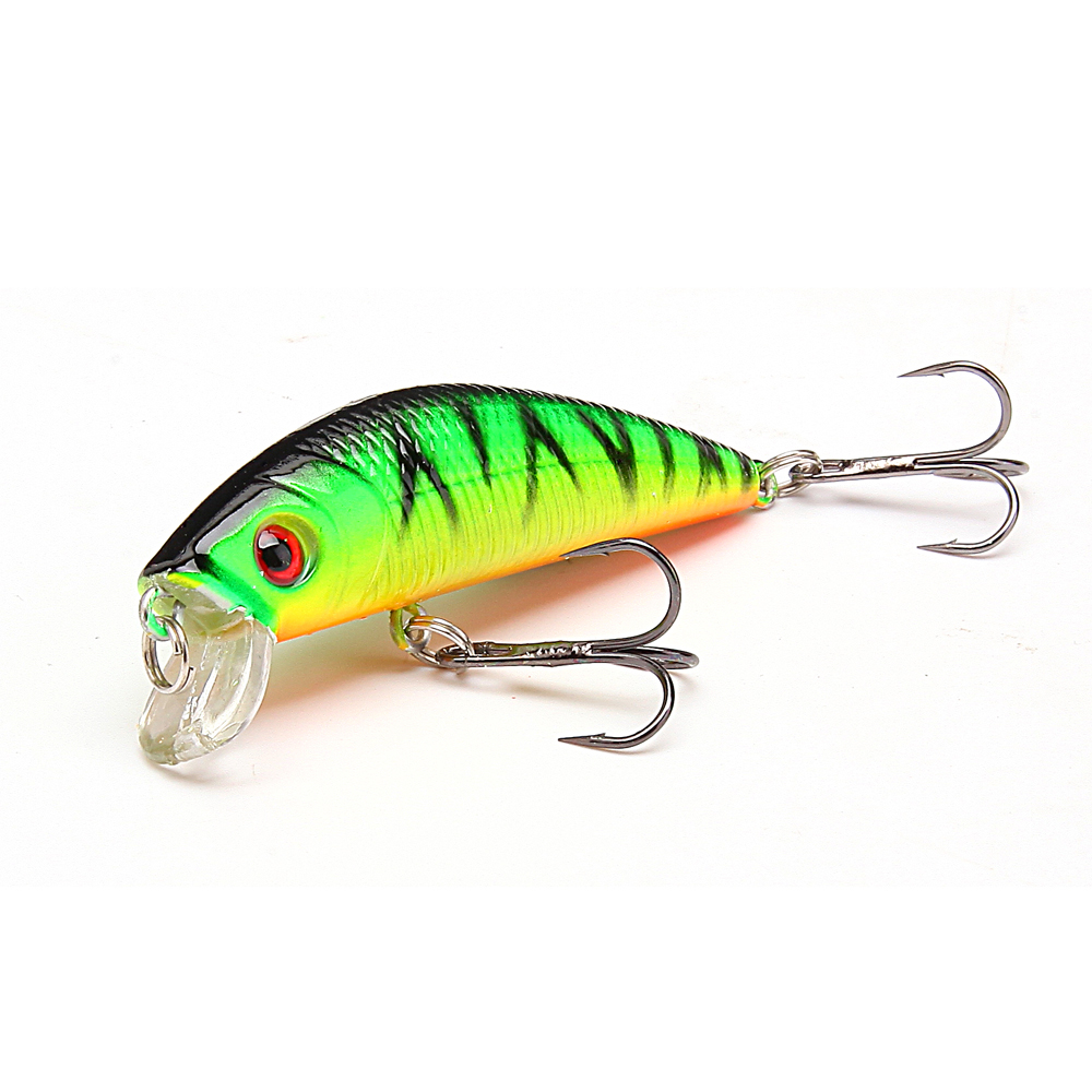 1pcs 7cm 6 hooks minnow lure sea fishing lure tackle for Fishing with jigs