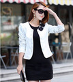 Blanco negro rosa color de las mujeres chaqueta delgada ropa de verano mujeres de la marca capa de la chaqueta de verano de manga larga chaqueta de trabajo para las mujeres