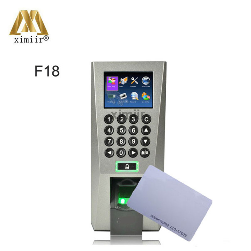Hot Sale Fingerprint Access Control And Time Attendance F18