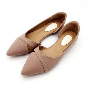 Image 2 - 2020 Lente Zomer Mode Vrouw Ballet Flats Schoenen Vrouwen Zachte Slip Op Enkele Schoenen Dames Schoenen Schoeisel Zapatos De Mujer zwart