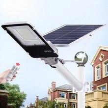 1 шт. 20 Вт 40 Вт 70 Вт 100 Вт 200 Вт Светодиодный уличный фонарь на солнечной батарее уличный водонепроницаемый IP65 светодиодный уличный светильник умный светильник для сада двора дорожный светильник