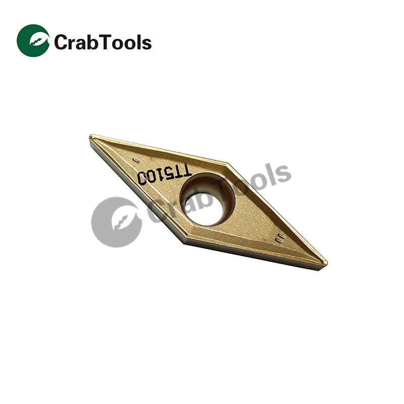 VBMT331 HM carbide insert CNC lathe turing blade for SVUBR 10pc VBMT160404-HM