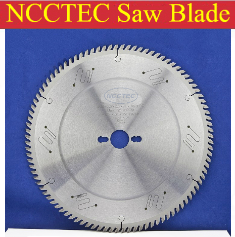 цена на 12'' 72 teeth 300mm Carbide tipped saw blade with Silencer holes for cutting melamine faced chipboard FREE shipping | G teeth