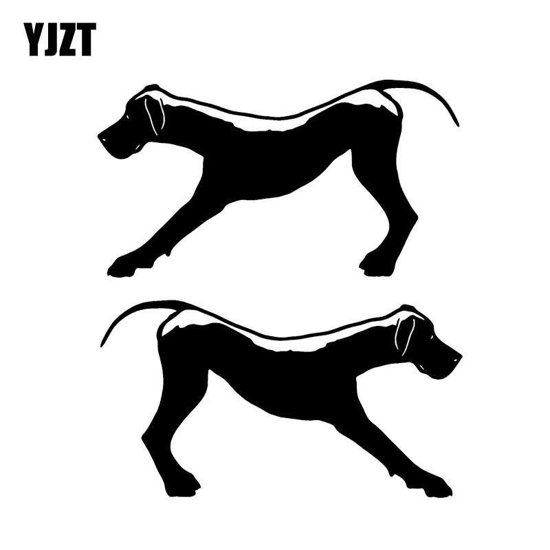 12.7*15.2CM Yorkie Dog Vinyl Decal Waterproof Car Stickers Car Decor Pretty