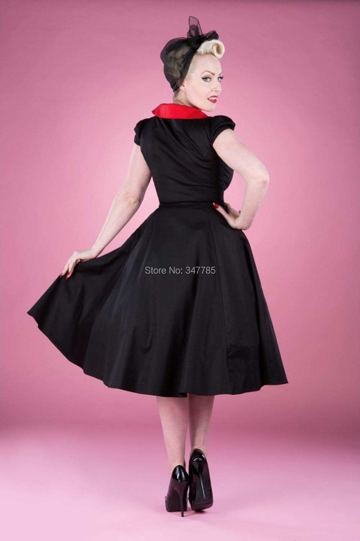 Único 50s Inspirados Vestidos De Dama Embellecimiento - Colección de ...