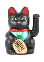 Fly Eagle To Be Rich Attractive Cute Battery Cel Lucky Smile Cat Kitty Fortune BeckonMoney