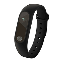 Smart Bracelet M2 With Heart Rate Sleep Monitor Pedometer Smart Band More Color Available For Men