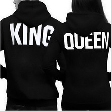 BTS Unicorn Unisex Hoodies Casual King Queen Funny Letter Printed Couple Hooded Hoodie Long Sleeve Sweatshirts For Women men