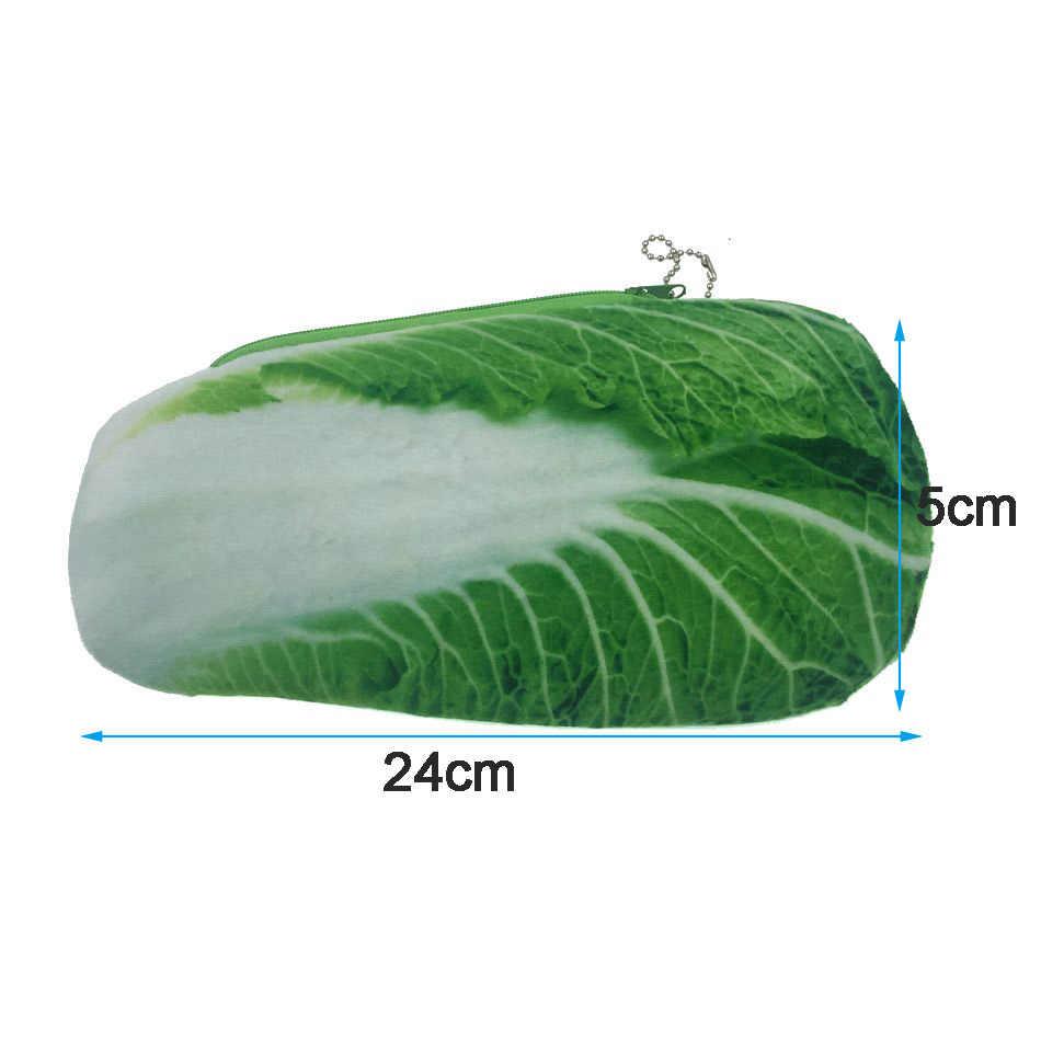 Bolsa de viagem Saco de Cosmética Mulheres Zipper Caso Novelity Legumes Compõem Sacos de Maquiagem Necessaries Organizador Bolsa De Armazenamento Saco Funcional