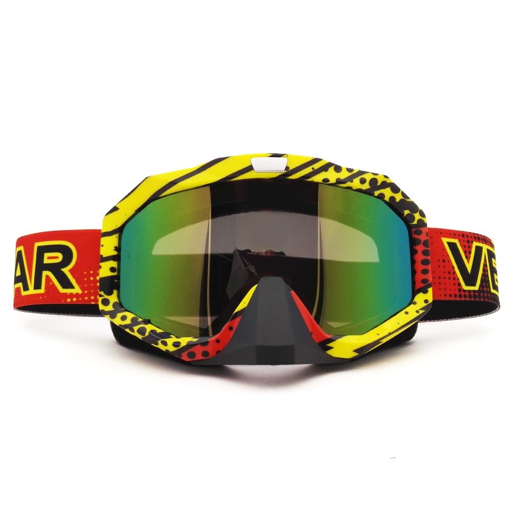 MJ81 Motocross Goggles Cross Country Skis Snowboard ATV Mask Oculos Gafas Motocross Motorcycle Helmet MX Goggles