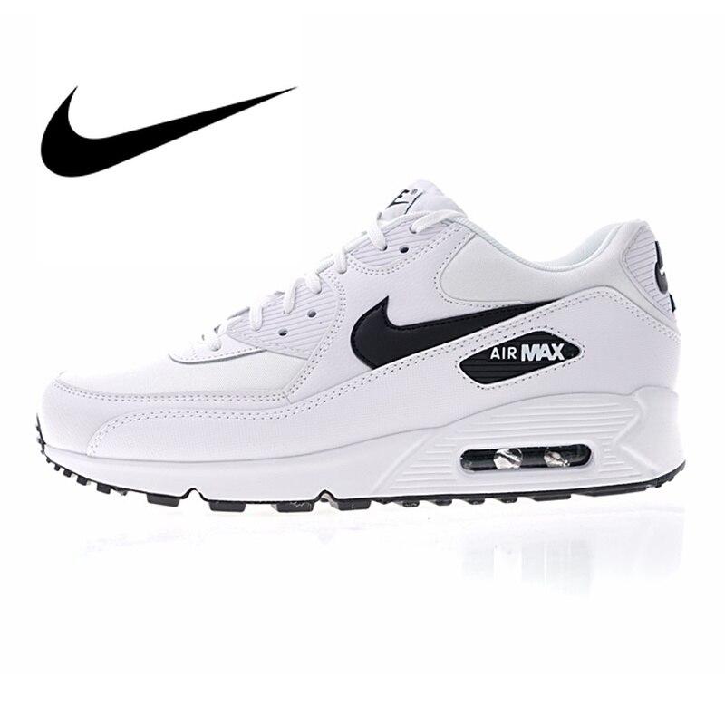 Nike AIR MAX 90 Femmes Respirant Chaussures de Course de Sport En Plein AIR Espadrilles de Sport Chaussures De Créateurs 2018 Nouvelle Marche 325213- 131