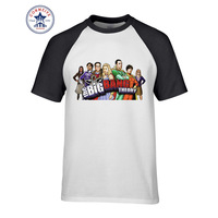 2017 Hipster Basic Tops Funny The Big Bang Theory Cotton T Shirt For Men