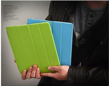 Uyandırma fonksiyonu yeni deri manyetik İnce akıllı kılıf apple - Tablet Aksesuarları - Fotoğraf 2