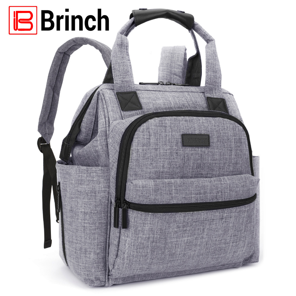 Fashion Nappy Bag Backpack Organizer with Changing Pad Waterproof Baby Diaper Bags Nursing Bag Mummy Maternity Bag for Stroller
