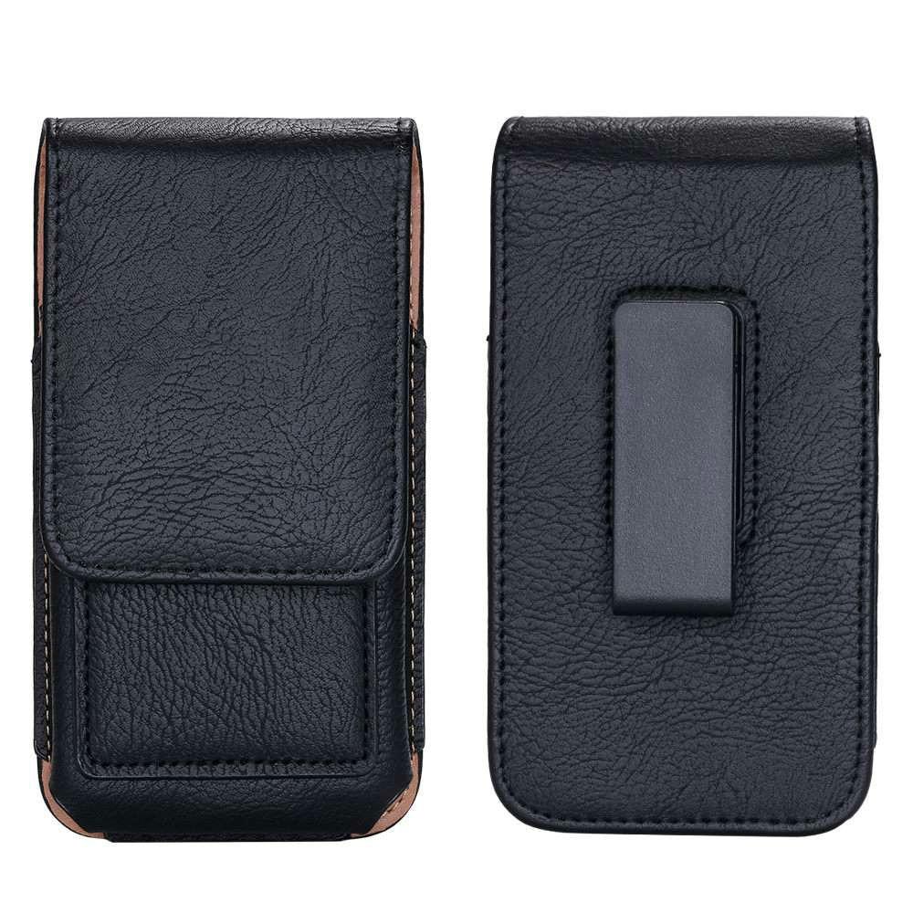 Universal Taille En Cuir Sac pour Blackview A7 Pro Bv8000 Bv7000 Cas Pochette Horizontale Clip Ceinture pour Doogee S60 X10 Téléphone cas