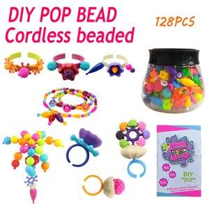 Kids Plastic Pop Beads Parent-