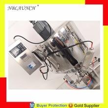 Разливочная машина миксер смешивающий нагреватель бункер банка медовая масса смазка арахисовое масло шоколад наполнитель гранул бункер