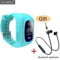 SALFRESA Smart Locator Tracker Watch For Children Wrist Strap For Q50 Y3 Kids Smart bracelet Wearable Accessories for kids cute