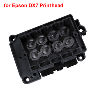 1pcs News and Original Solvent Manifold / Adapter printer parts for Epson DX7 Printhead F189010