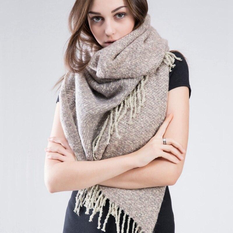 ZA winter scarf 2016 font b Tartan b font Scarf women desigual Plaid Scarf cuadros Brand
