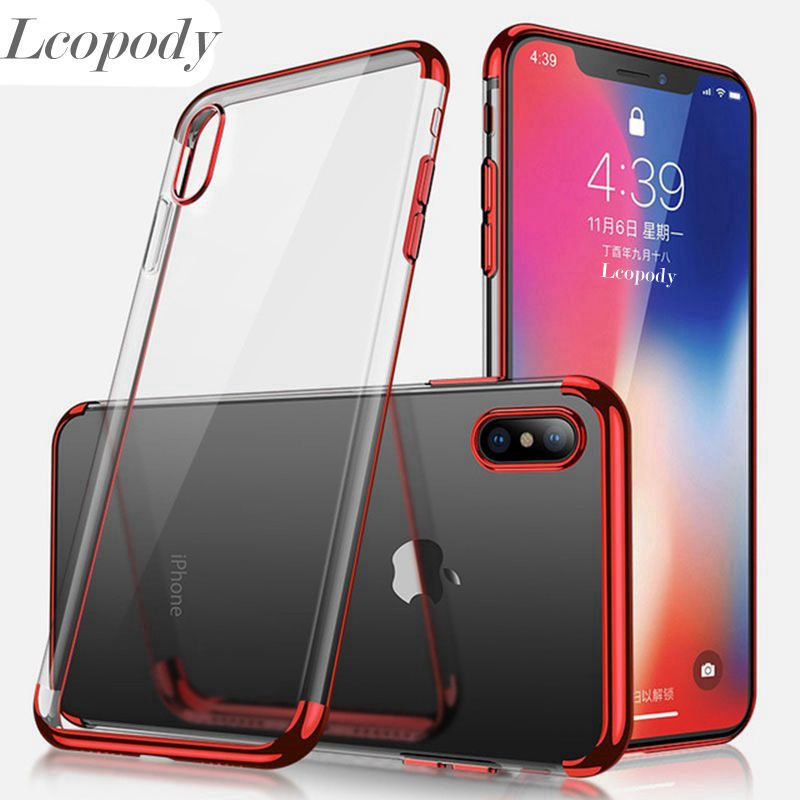 For <font><b>iPhone</b></font> X XR XS MAX 7 6 <font><b>6s</b></font> 8 Plus Color phone <font><b>case</b></font> Simple Solid Color Ultrathin Soft TPU Color Back Cover Capa FOR <font><b>IPHONE</b></font> image