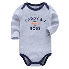 baby Clothing newborn baby bodysuit long sleeve 100% cotton 3 6 9 12 18 24 month