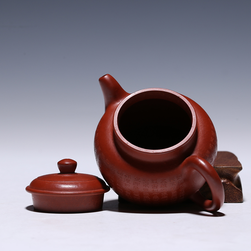 130ml Authentic Yixing Teapot De Zhong Pot Health Care Teaware Purple Clay Red Mud Tea Pot 2015 yr 357g Menghai Ruyi Ripe Puer