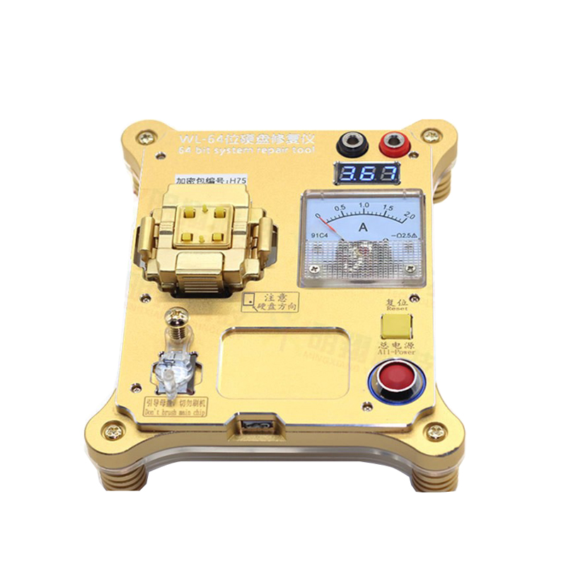 64 Bit IC Chip Programmer Machine Repair Mainboard Nand Flash Hard Disk HDD Serial Number SN for iPhone 5S 6 Plus iPad A