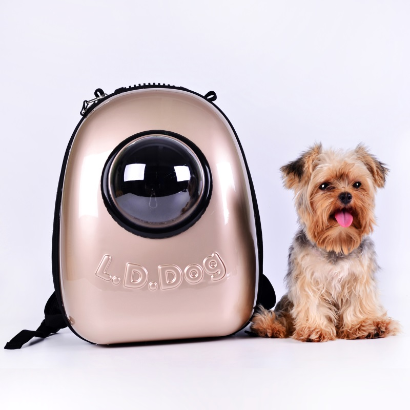Luxury Capsule Dog Carrier Bag Senior Space Pet Puppy Small Animal Cat Transportation Backpack Carrying Bag For Chihuahua Yorkie