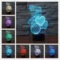1 peça novelty 3d madeira lâmpada humor bulbificação luz crânio micro usb lâmpada de mesa luz da noite para crianças luzes da noite