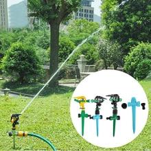 Garden Lawn 360 Degree Rotating Watering Irrigation Tools Nozzle Impulse Sprinkler Fitting Garden