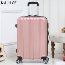 Новинка; Лидер продаж; чемодан, сумка для Для женщин путешествий вращающиеся колеса Чемодан на колесах 20 мм/22 мм/24 дюйма салон троллейбуса коробка модный мужской чемодан