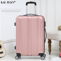 New hot suitcase carry ons Women travel Spinner rolling luggage on wheels 20/22/24 inch Cabin trolley box fashion men's luggage