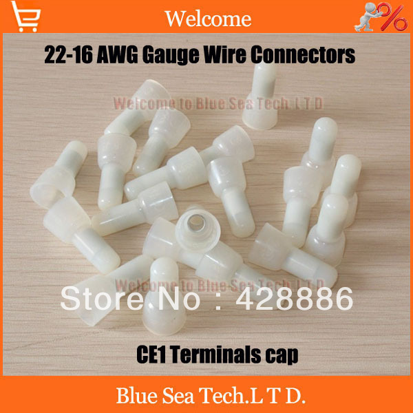 1000 pcs good nylon crimp caps 22 16 awg gauge wire connectors 25 1000 pcs good nylon crimp caps 22 16 awg gauge wire connectors 25mm 125 keyboard keysfo Images