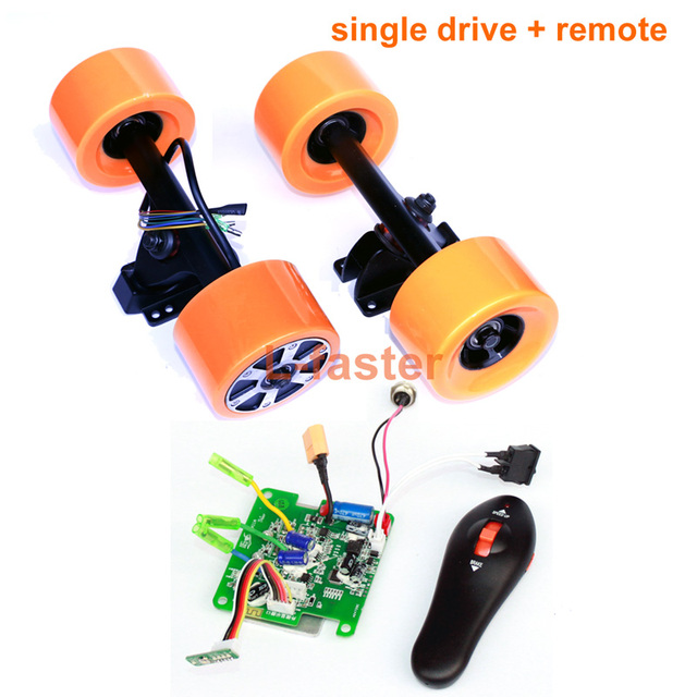 Electric Skateboard Hub Motor Wheel Kit With Remote Cheap Solution