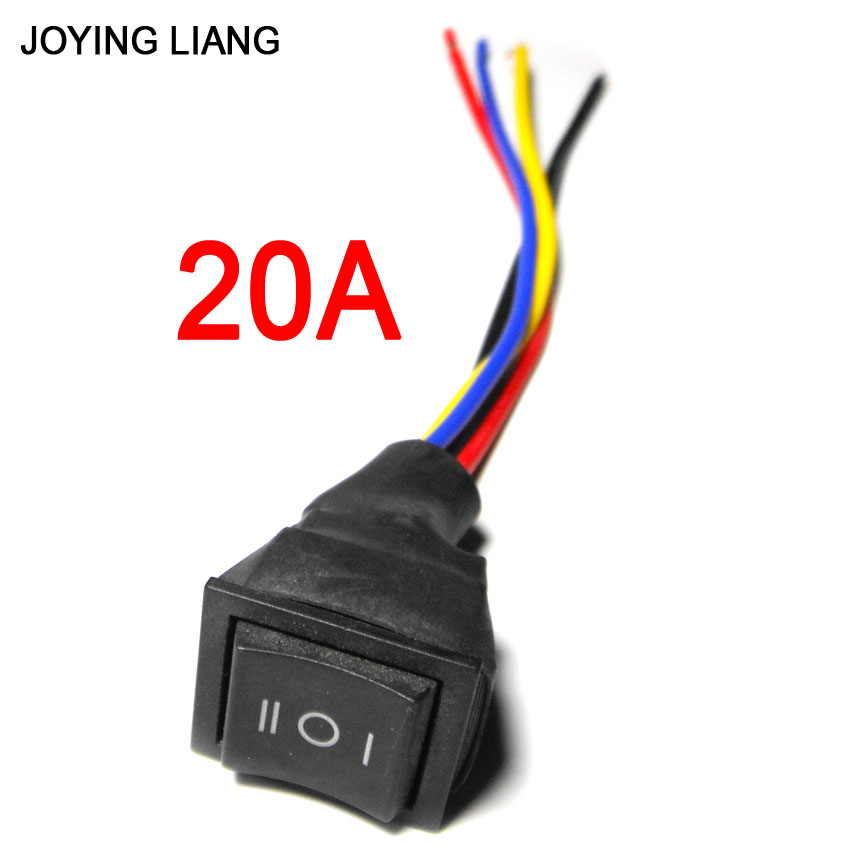 10A/20A Umkehr Schalter mit Draht dreipolige Schalter Zahnradpumpe ...