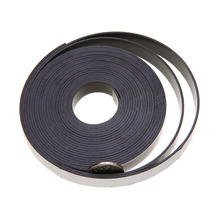 1pc 1M/5M Soft Rubber Self Adhesive Magnetic Stripe Flexible Magnet DIY Strip Tape 10mmx1.5mm Mayitr цена и фото